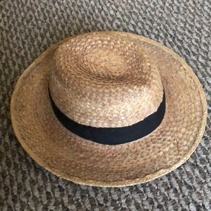 Vintage 90's Straw Summer Beach Hat